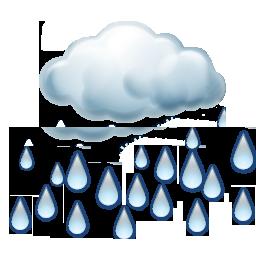 Kuvvetli sağanak yağışlı