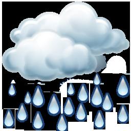 Kuvvetli yağmurlu